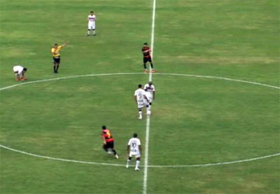 Pernambucano 2011, final: Sport 0 x 2 Santa Cruz. Imagem: TV Clube