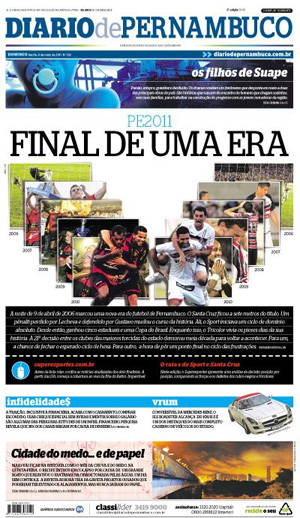 Diario de Pernambuco: 08/05/2011