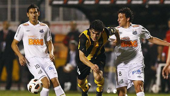 Final da Libertadores 2011: Santos 2 x 1 Peñarol. Foto: Santos/divulgação
