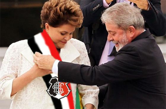 """Dlma recebe a faixa do """"Santa Cruz"""" de Lula"""