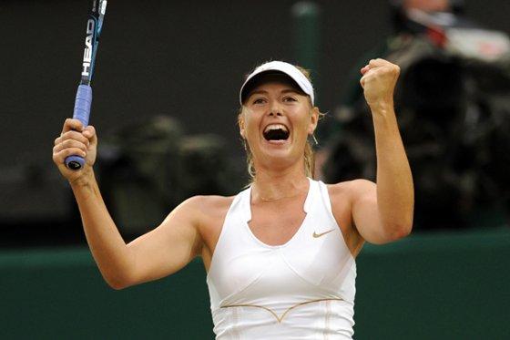 Maria Sharapova se classifica para a semifinal de Wimbledon. Foto: Wimbledon/divulgação