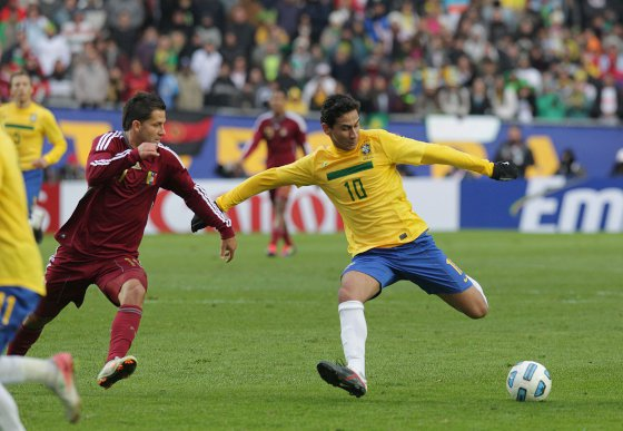 Copa América 2011  Brasil 0x0 Venezuela. Foto  CBF divulgação 101afe61071b4