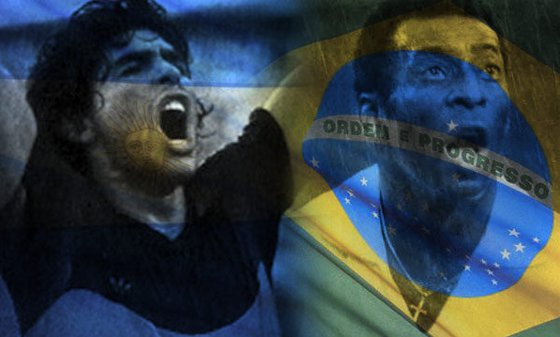 Maradona e Pel