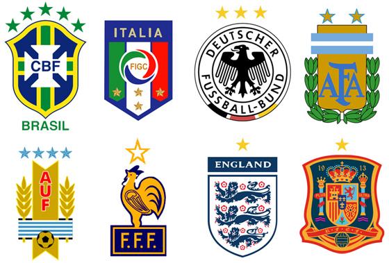 Resultado de imagem para paises campeões do mundo