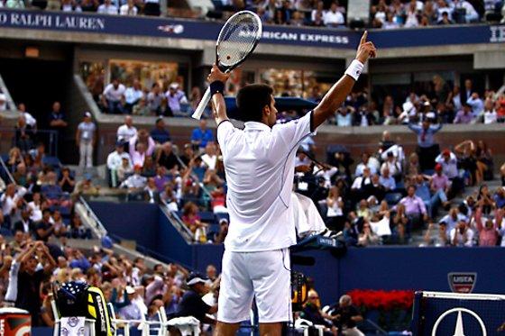 Novak Djokovic conquista o US Open 2011. Foto: US Open/divulgação