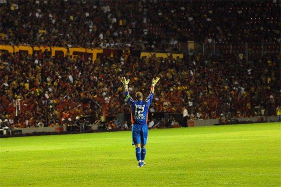 Libertadores 2009: Sport 1 (1) x (3) 0 Palmeiras. Foto: Helder Tavares/Diario de Pernambuco