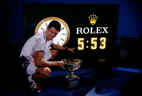 Final do Australia Open: Djokovic conquista o título sobre Nadal. Foto: Australia Open/divulgação