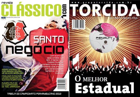 Revistas Clássico e Torcida