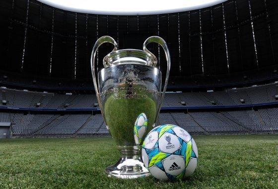 Bola da final da Liga dos Campeões de 2012, em Munique. Foto: Adidas/divulgação