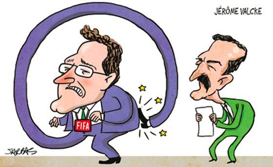 Charge de Jarbas Domingos/Diario de Pernambuco