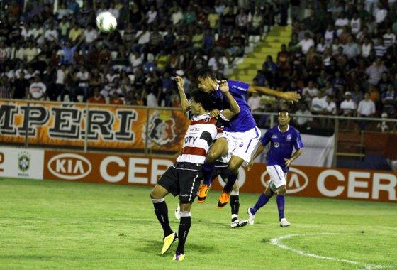 Copa do Brasil 2012: Penarol/AM 1x2 Santa Cruz. Foto: Evandro Seixas / A CRITICA