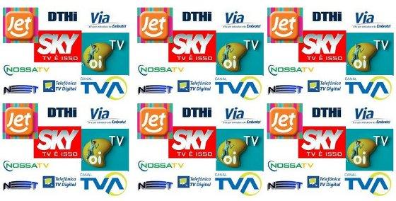 Operadoras de TV por assinatura do Brasil