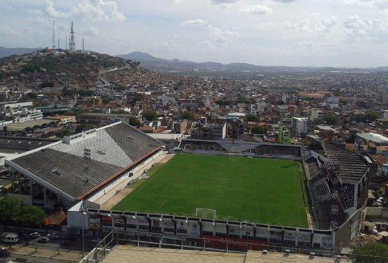 Estádio Luiz Lacerda, em Caruaru. Foto: Felipe Coelho/divulgação
