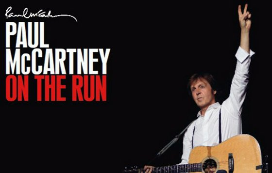 Paul McCartney, show On The Run, agendado para o Arruda