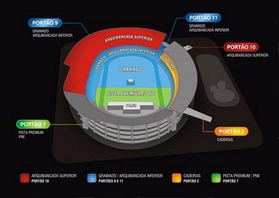 Estrutura do Arruda para o show de Paul McCartney. Crédito: zetks/divulgação