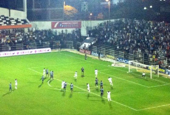 Pernambucano 2012: Porto 1x3 Santa Cruz. Foto: Daniel Leal/Diario de Pernambuco