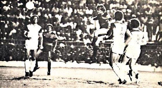 Série A 1982: Sport 2 x 1 Flamengo. Foto: Edvaldo Rodrigues/Diario de Pernambuco