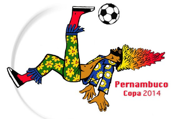Marca de Pernambuco para a Copa do Mundo de 2014.