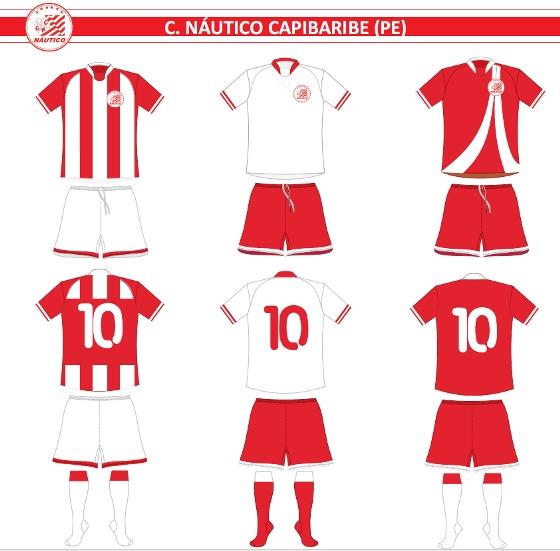 Uniforme do Náutico para a Série A de 2012. Crédito  CBF 23a64a94fc96e