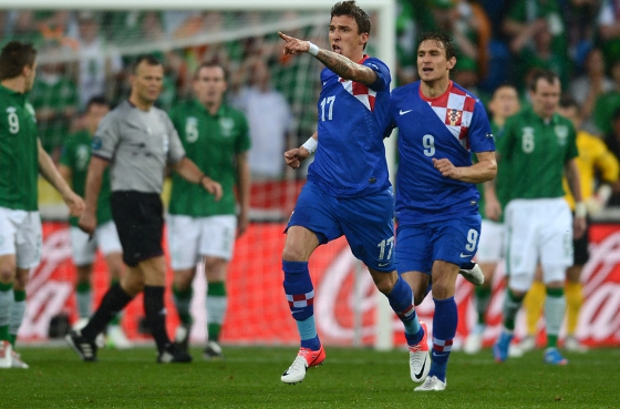 Eurocopa 2012: Crocia x Irlanda. Foto: Uefa/divulgao