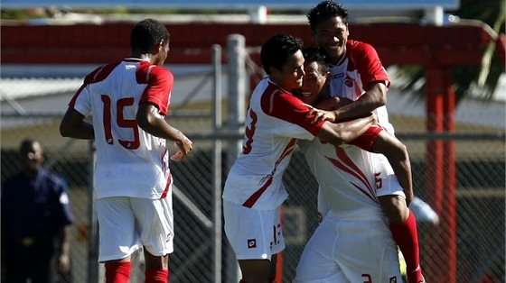 Copa da Oceania 2012, final: Taiti 1 x 0 Nova Calednia. Foto: Fifa/divulgao