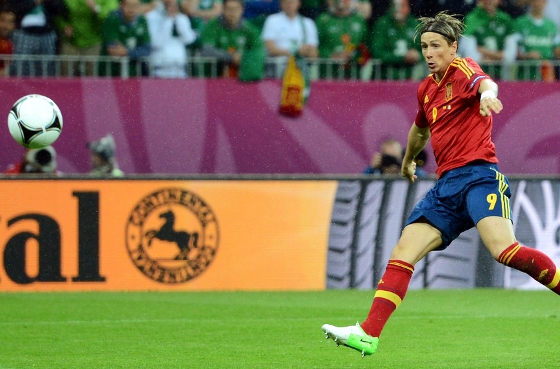 Eurocopa 2012: Espanha x Irlanda. Foto: Uefa/divulgao
