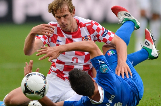 Eurocopa 2012: Itlia 1x1 Crocia. Foto: Uefa/divulgao