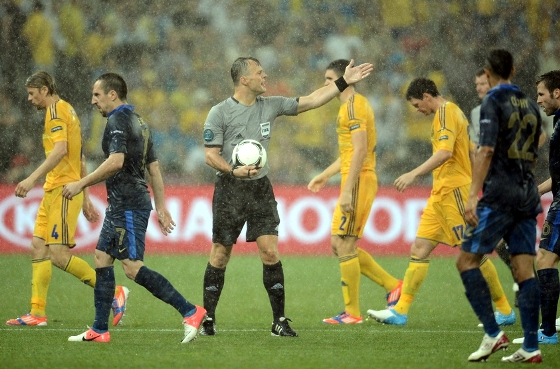 Eurocopa 2012: Ucrnia x Frana. Foto: Uefa/divulgao