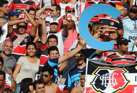 Série D 2011: Santa Cruz 0x0 Treze. Foto: Roberto Fernandes/Diario de Pernambuco