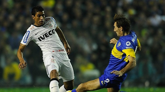 Libertadores 2012, final: Boca Juniors 1x1 Corinthians. Foto: Conmebol/divulgao