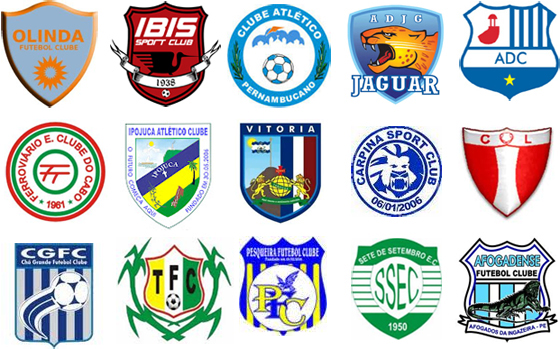 Clubes da segunda divisão do campeonato pernambucano em 2012