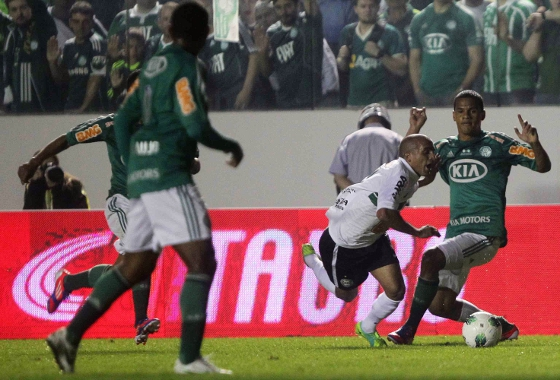 Copa do Brasil 2012, final: Palmeiras 2x0 Coritiba. Foto: Wagner Carmo/VIPCOMM