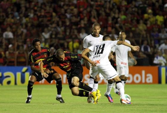 Série A 2012: Sport 1x1 Corinthians. Foto: Helder Tavares/Diario de Pernambuco
