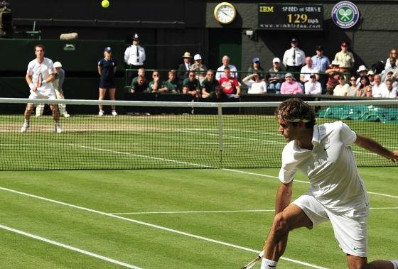 Wimbledon 2012, final: Roger Federer 3 x 1 Andy Murray. Foto: ATP/divulgação