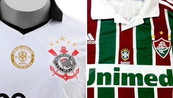 O escudo da CBF para a Seleção e campeões nacionais  00cc9009d2591