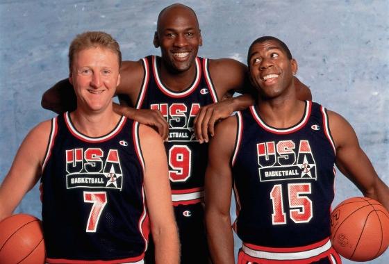 Dream Team de basquete dos EUA em 1992