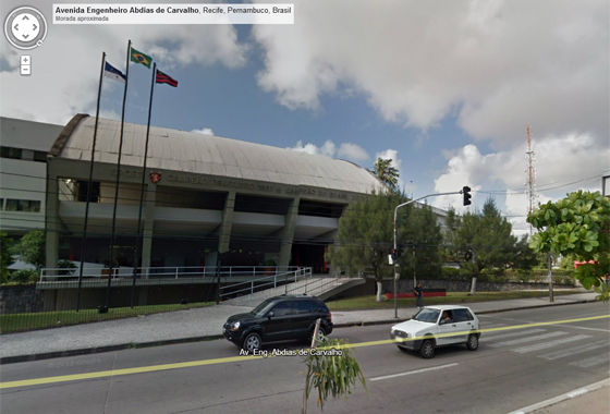 Sede do Sport no Google Street View