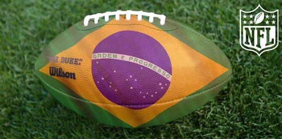 Bola de futebol americano. Crédito  NFL a12f336ea12e3