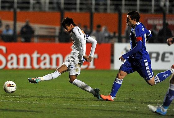 Recopa Sul-americana 2012: Santos 2x0 Universidad de Chile. Crédito: Ivan Storti / Divulgação Santos FC