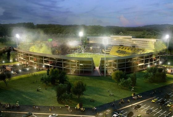 Novo estádio do Peñarol, do Uruguai. Crédito: Peñarol/divulgação