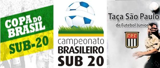 Copa do Brasil Sub 20, Brasileiro Sub 20 e Copa São Paulo Sub 19