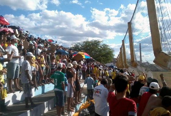 Final da Série A2 do Pernambucano 2012: Pesqueira x Chã Grande. Foto: @PesqueiraFC