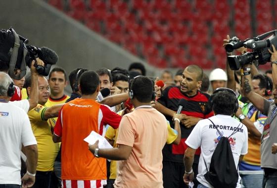 Pernambucano 2014, turno: Náutico 2x1 Sport. Foto: Ricardo Fernandes/DP/D.A Press