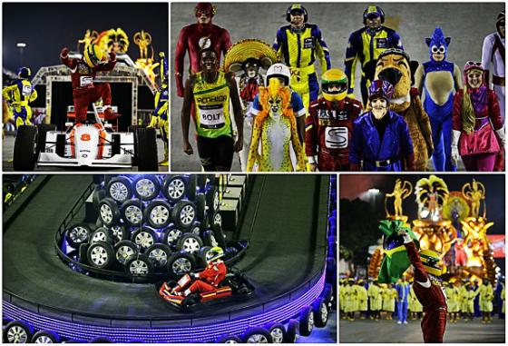 Desfile da escola de samba Unidos da Tijuca no carnaval carioca em 2014. Fotos: Wilton Junior/Estadão