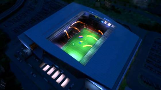 Itaquerão. Crédito: game Fifa World Cup 2014/EA Sports