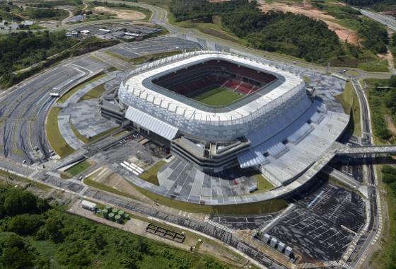 Arena Pernambuco. Foto: Consórcio Arena Pernambuco/divulgação