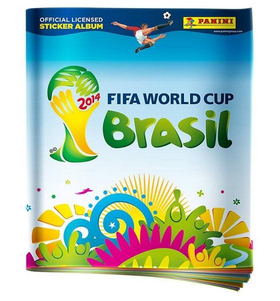 a12932913f Capa do álbum de figurinhas da Copa do Mundo 2014. Crédito   Panini divulgação
