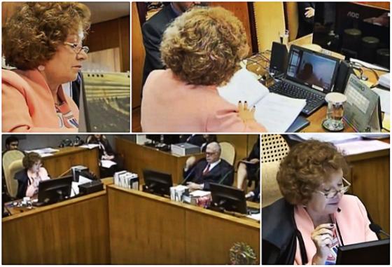 Nancy Andrighi, ministra do STJ e relatora do casa do Brasileiro 1987. Crédito: Superior Tribunal de Justiça (STJ)/youtube