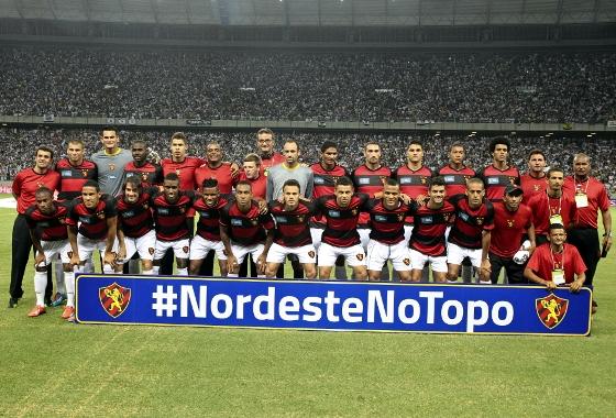 Copa do Nordeste 2014, final: Ceará x Sport. Foto: JARBAS OLIVEIRA/ESTADÃO CONTEÚDO