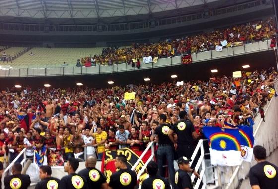 Copa do Nordeste 2014, final: Ceará 1x1 Sport. Foto: Daniel Leal/DP/D.A Press